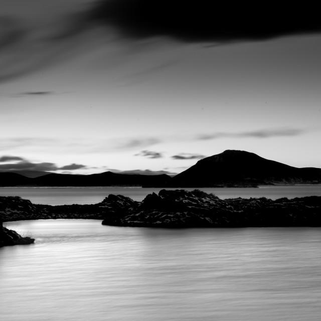"""""""Myvatn Lake - Iceland"""" stock image"""