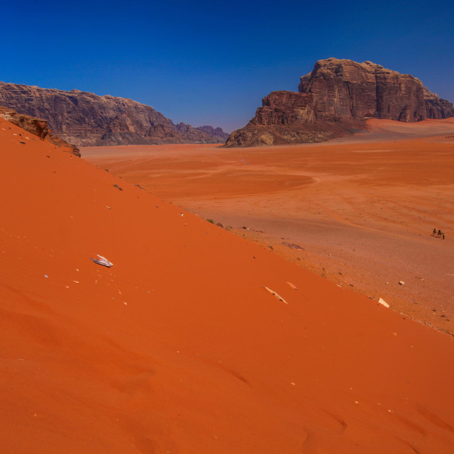 """""""Red Sand dunes"""" stock image"""