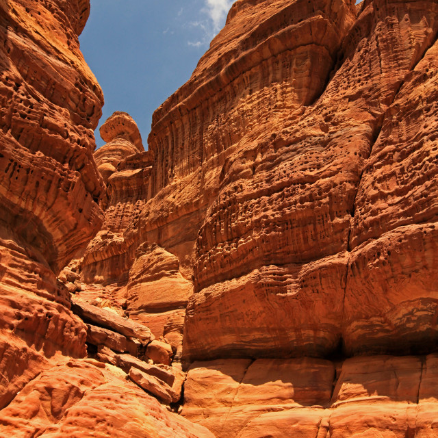 """Wadi Numeira"" stock image"