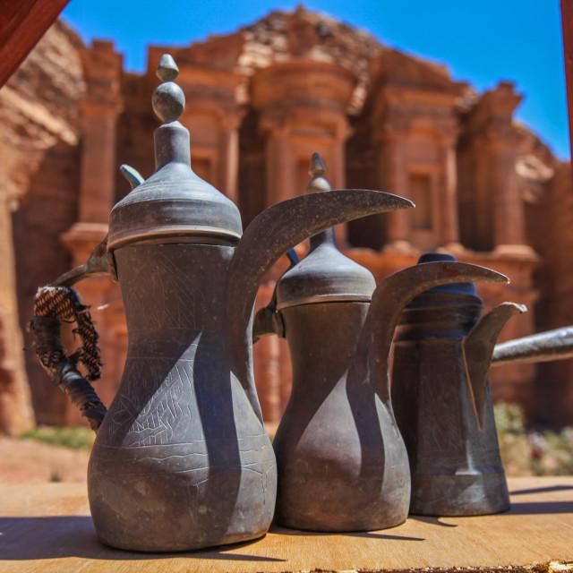 """""""Petra monastery"""" stock image"""