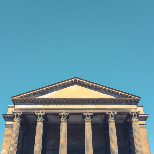"""""""Greek Style Architecture With Columns"""" stock image"""