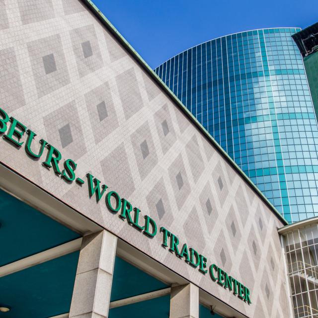 """Beurs World Trade Center Rotterdam"" stock image"