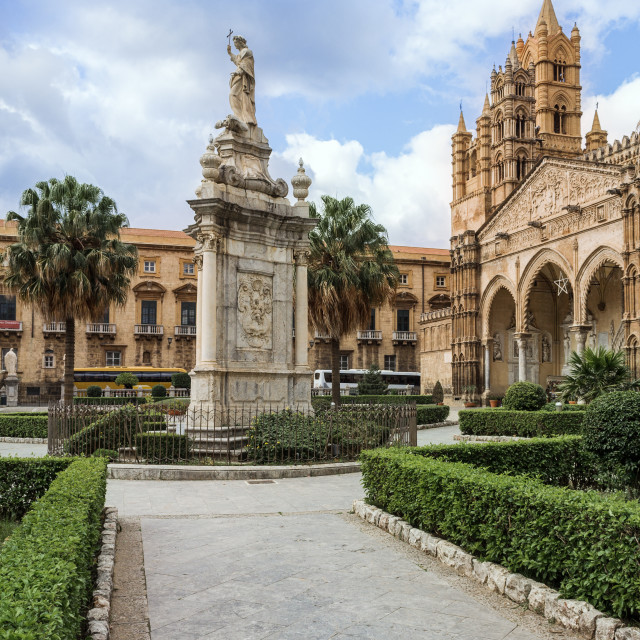 """""""Cathedral of Palermo"""" stock image"""