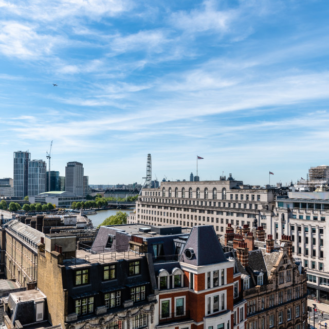 """Cityscape of the City of London a sunny day"" stock image"