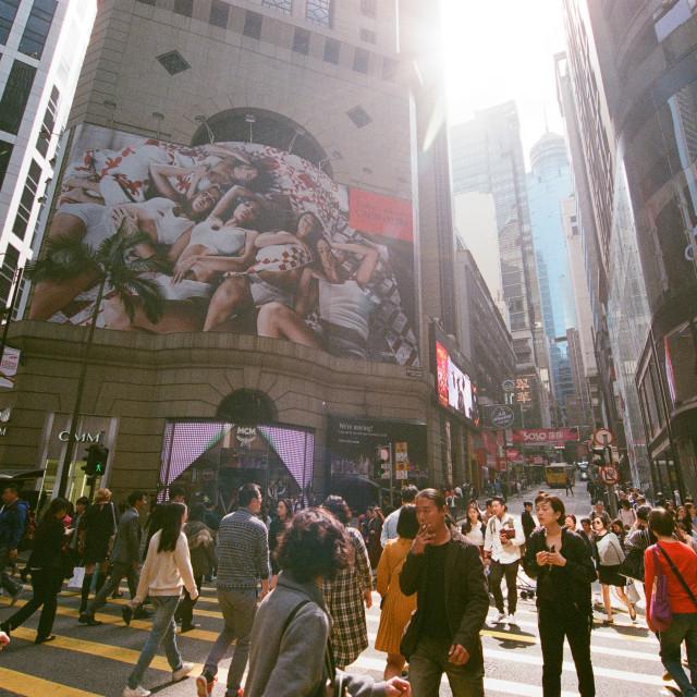 """""""Central, Hong Kong"""" stock image"""