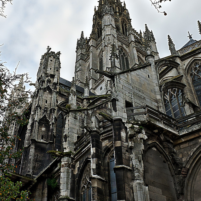 """""""Rouen Cathedral"""" stock image"""