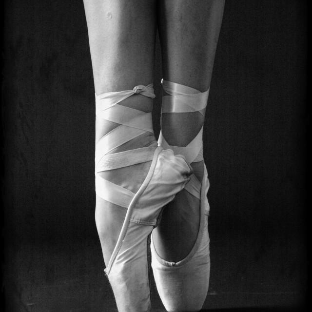 """""""Ballet Slippers"""" stock image"""