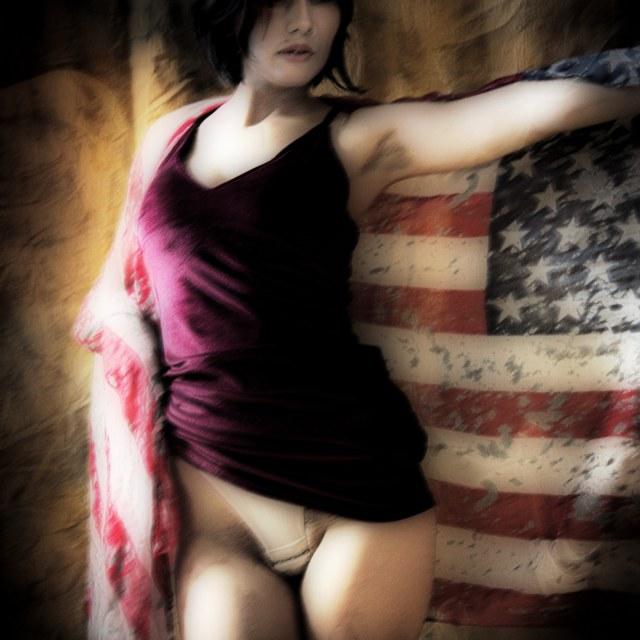 """Patriotism"" stock image"