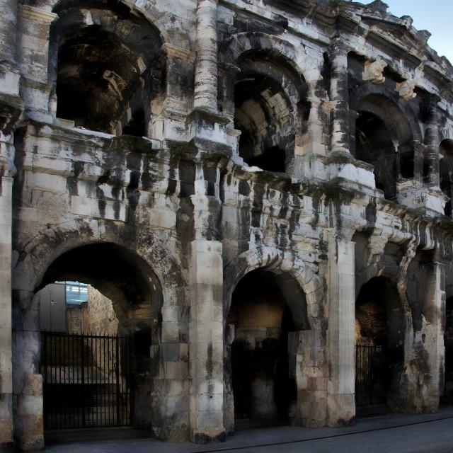 """Arles Coliseum"" stock image"