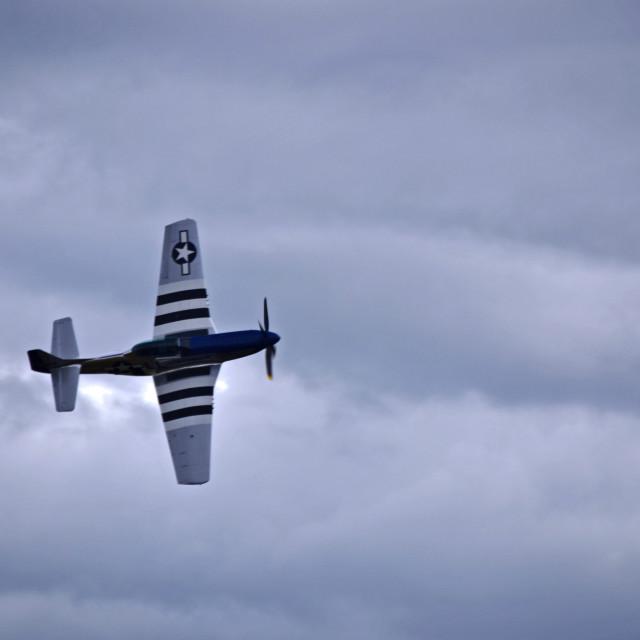 """P-51 Mustang"" stock image"
