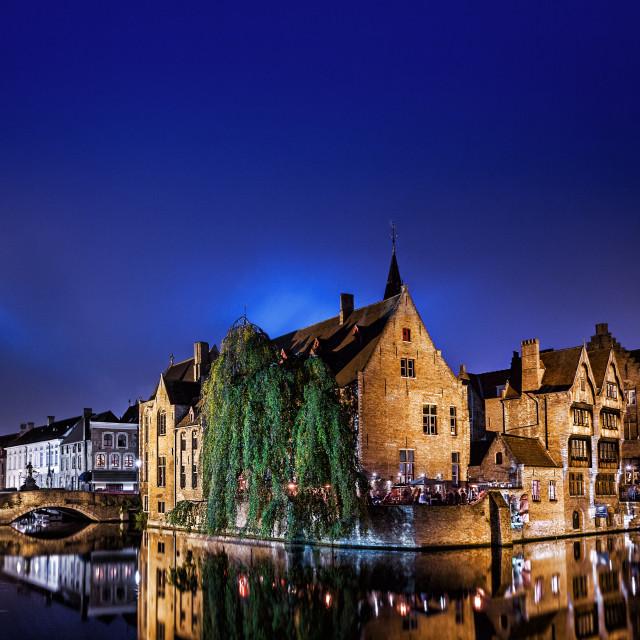 """""""Bruges (Belgium)"""" stock image"""