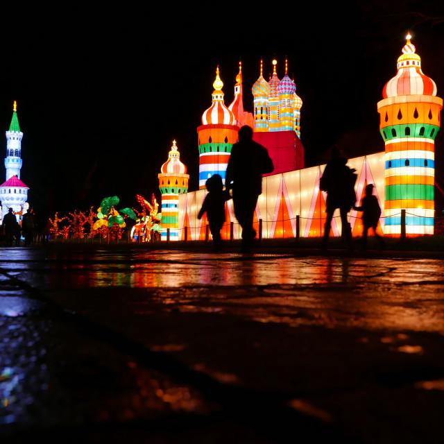 """""""Festival of light"""" stock image"""