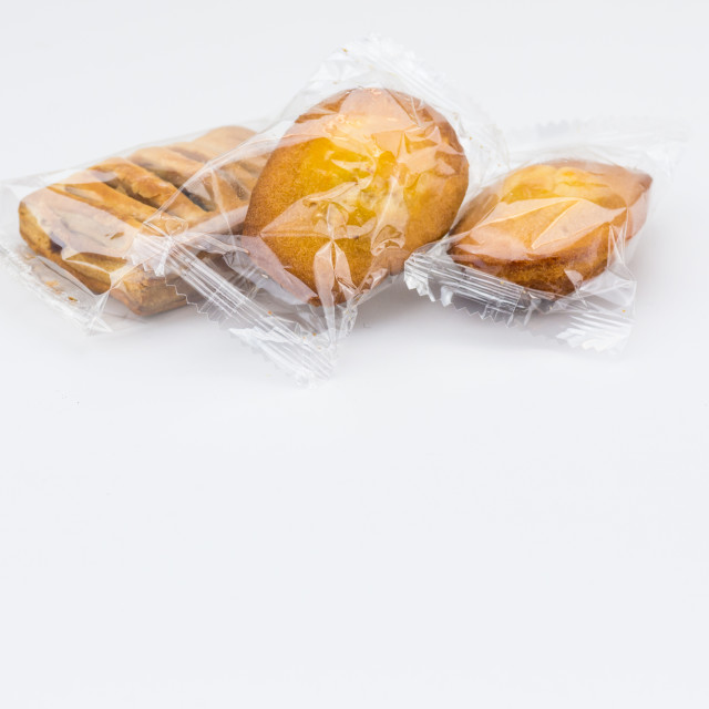 """""""packaged snacks and titbits backdrops"""" stock image"""