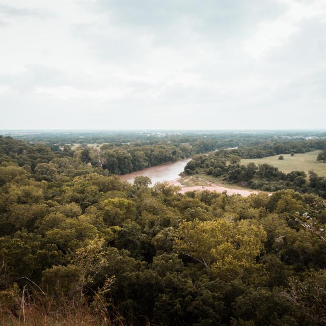 """Texan landscape"" stock image"