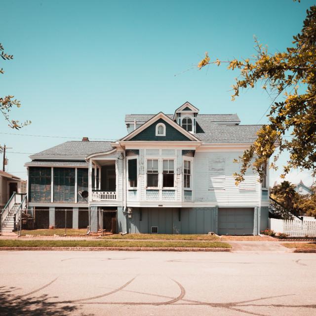 """Old Galveston"" stock image"