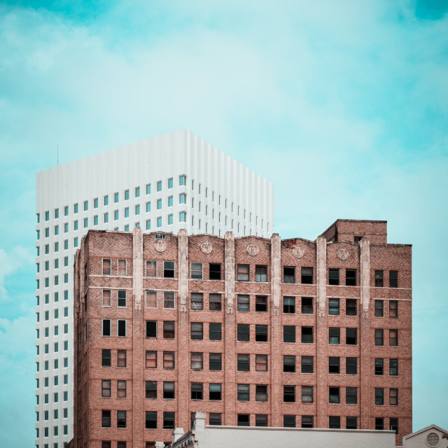 """Galveston Architecture"" stock image"