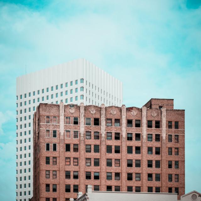 """Galveston Architecture"" stock image"