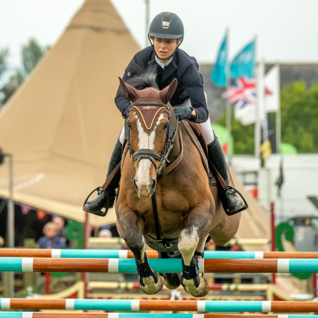 """Show Jumping. 3"" stock image"