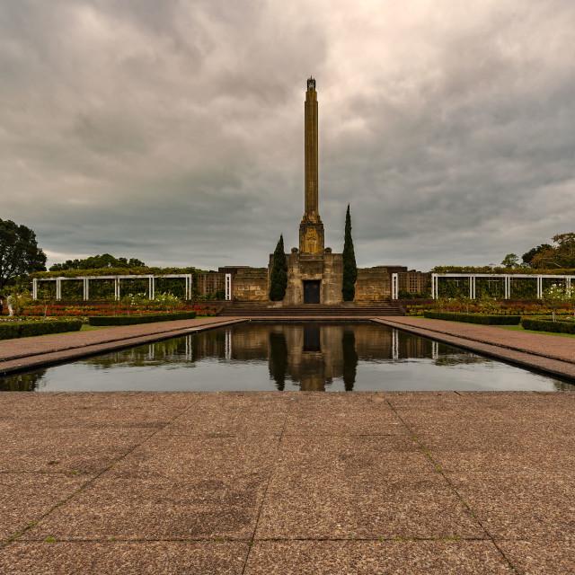 """""""Memorial Park"""" stock image"""