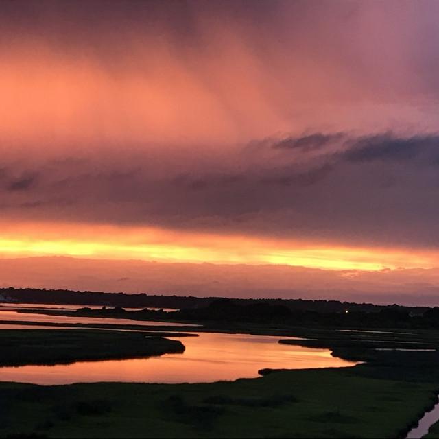 """Sunset perfection"" stock image"