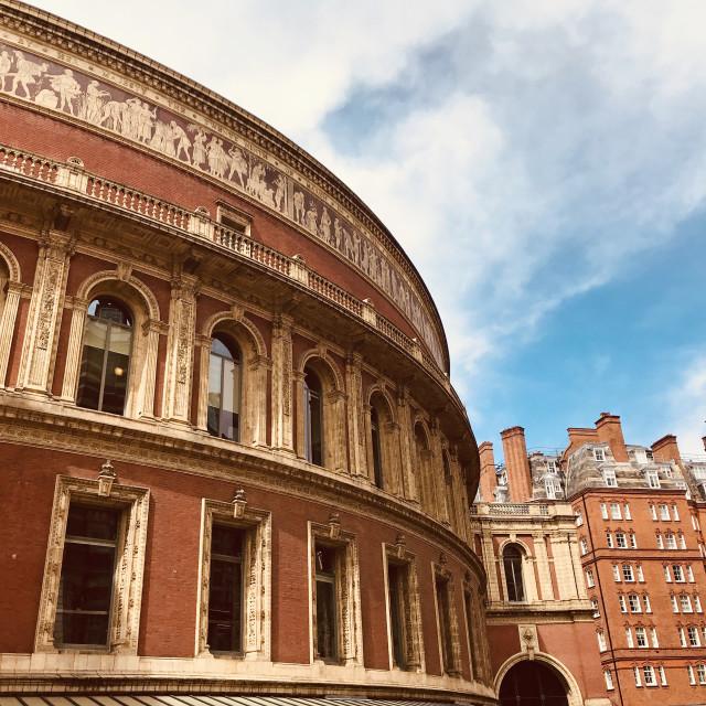 """""""The Royal Albert Hall"""" stock image"""