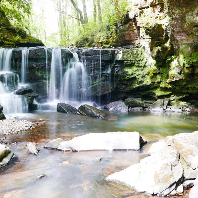"""Hidden Waterfall"" stock image"