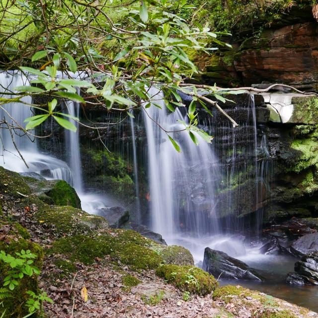 """Waterfall in Swansea"" stock image"