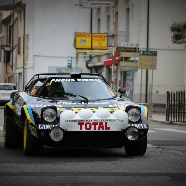 """""""Lancia Stratos"""" stock image"""