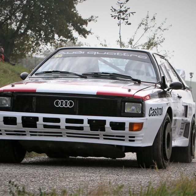 """""""Audi Quattro"""" stock image"""