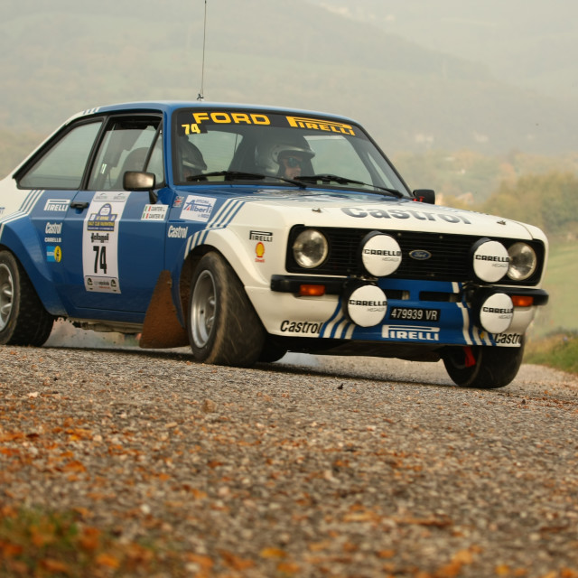 """Ford Escort Mk 2"" stock image"