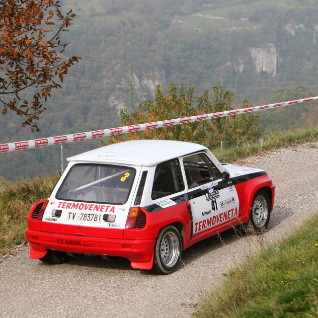"""Renault 5 Maxi Turbo"" stock image"