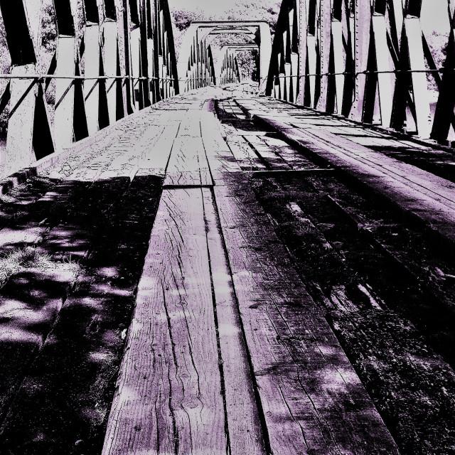 """Redundent Railway Line"" stock image"
