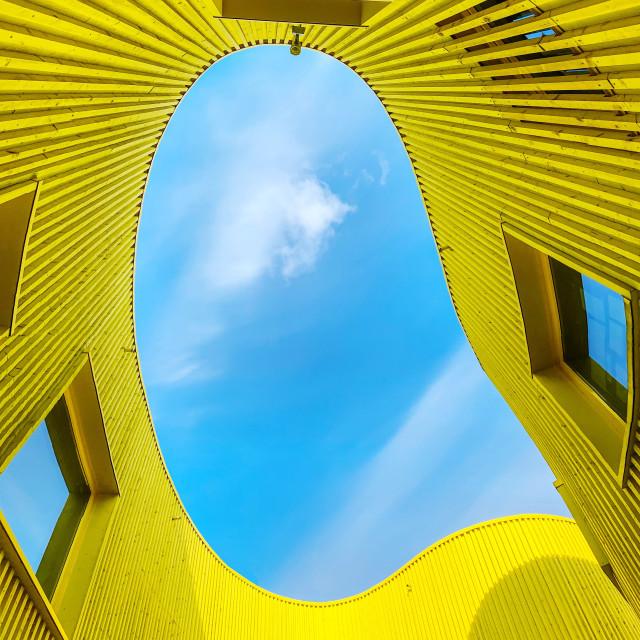 """Yellow looking"" stock image"