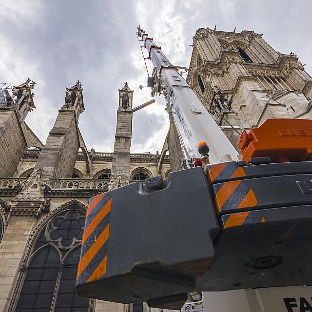 """""""Notre Dame Paris"""" stock image"""