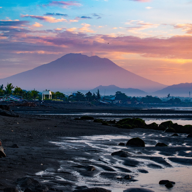"""Sunrise Vibes in Bali"" stock image"