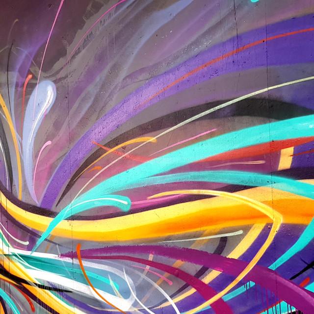 """Croydon Street Art"" stock image"