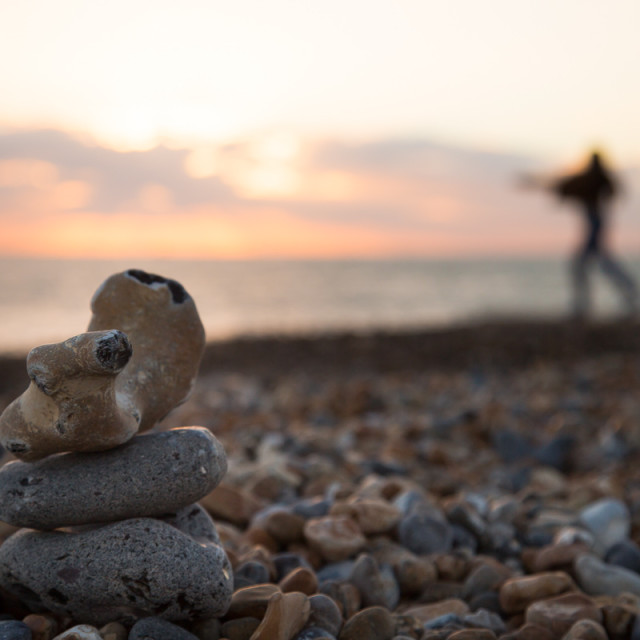 """Throwing Stones"" stock image"