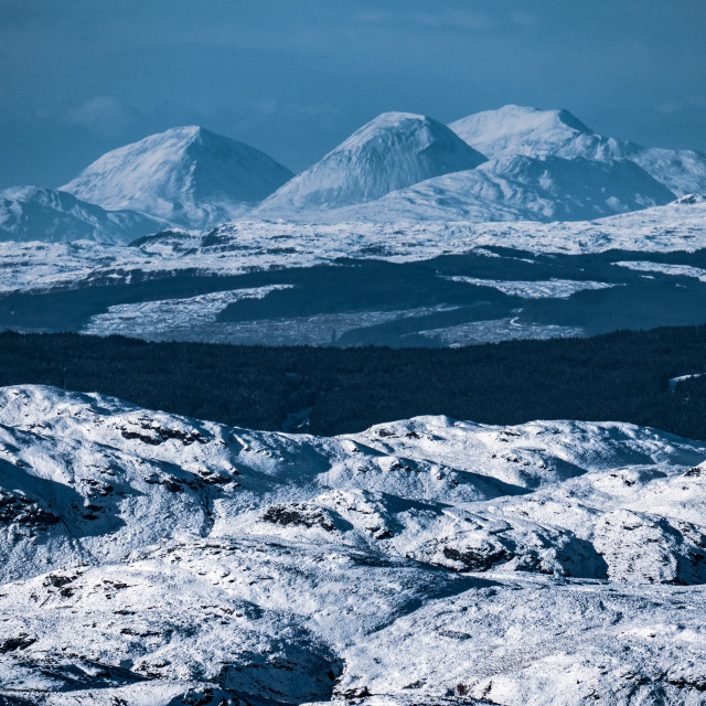 """The Paps of Jura"" stock image"