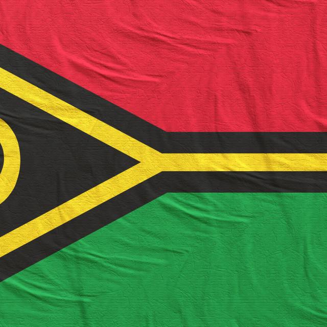 """""""3d rendering of Vanuatu flag"""" stock image"""