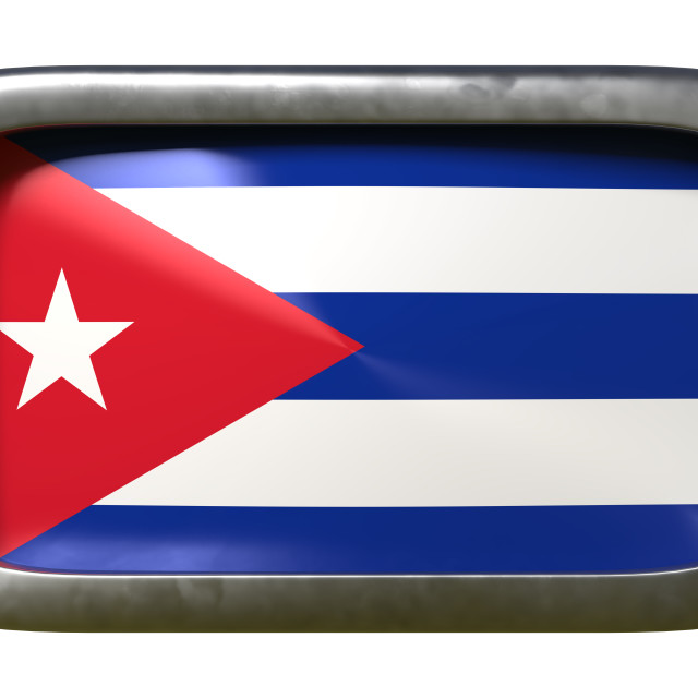 """Cuba flag sign"" stock image"