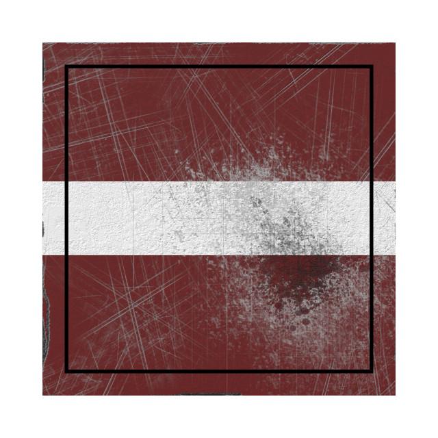 """Old Latvia flag"" stock image"