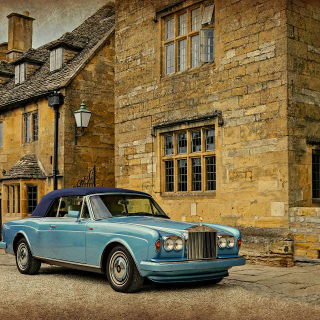 """Luxurious Cotswolds"" stock image"