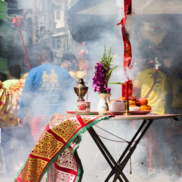 """""""Firecracker Festival"""" stock image"""