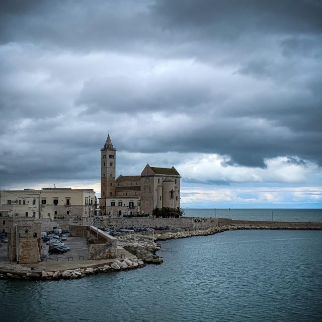 """San Nicola Pellegrino Cattedrale"" stock image"