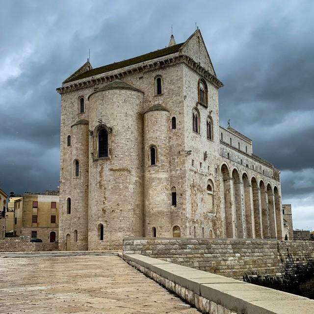 """San Nicola Pellegrino Cathedral"" stock image"