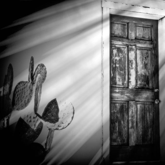 """""""Mystery Door"""" stock image"""