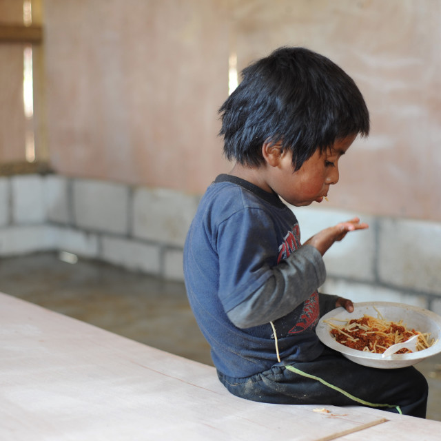 """A maya indigenous boy in Guatemala"" stock image"
