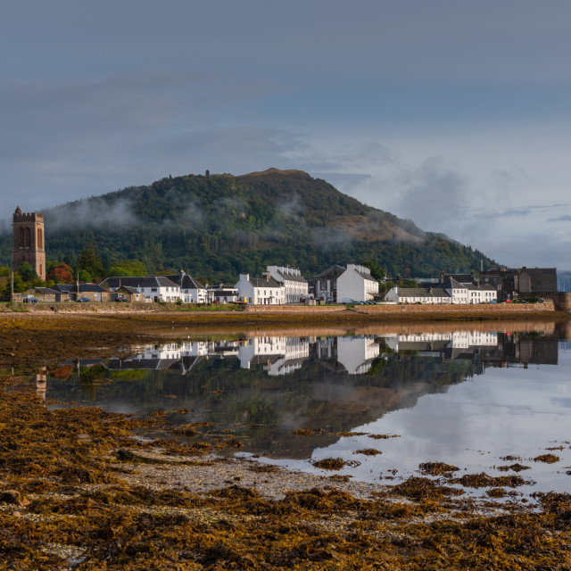 """Inverary reflection"" stock image"