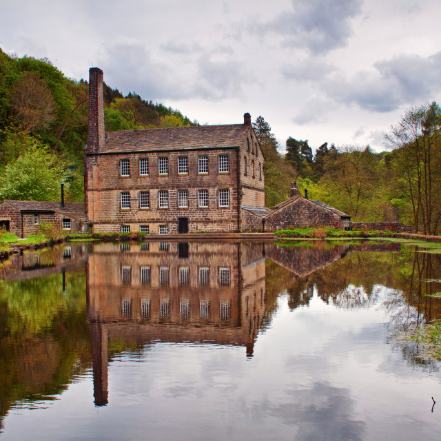 """""""Gibson Mill"""" stock image"""