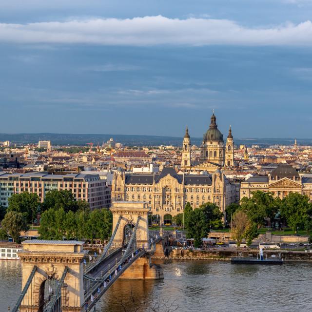 """Stunning Budapest Cityscape"" stock image"